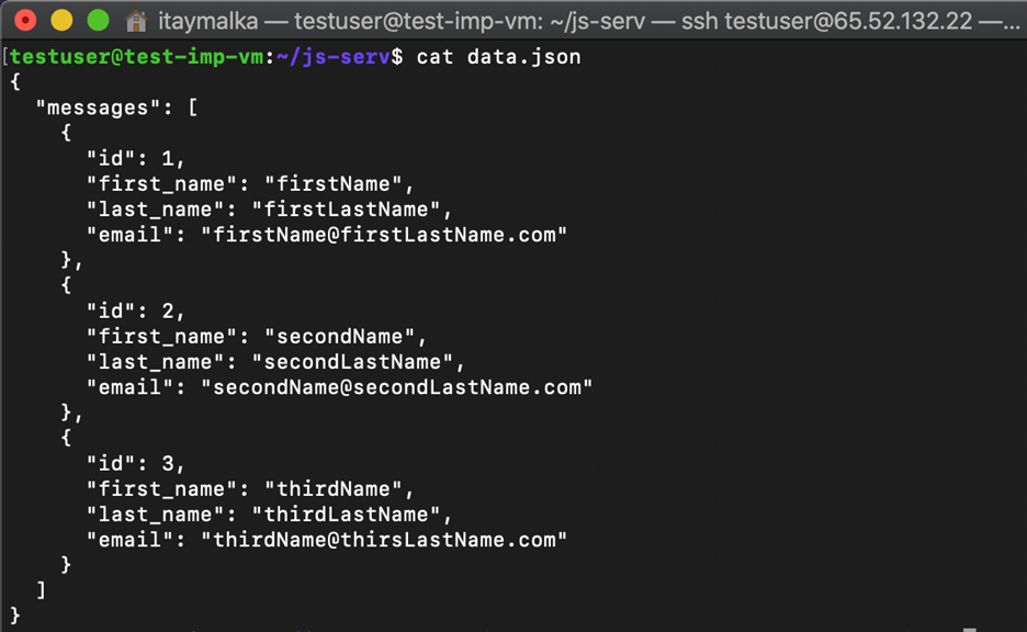 Create an API